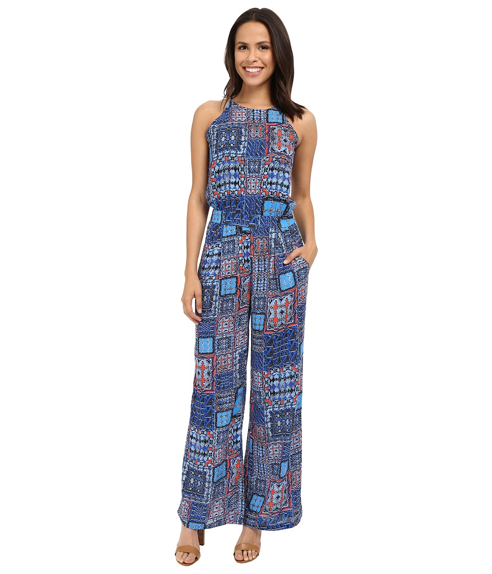 KUT from the Kloth - Greta Romper (Royal) Women's Jumpsuit & Rompers One Piece