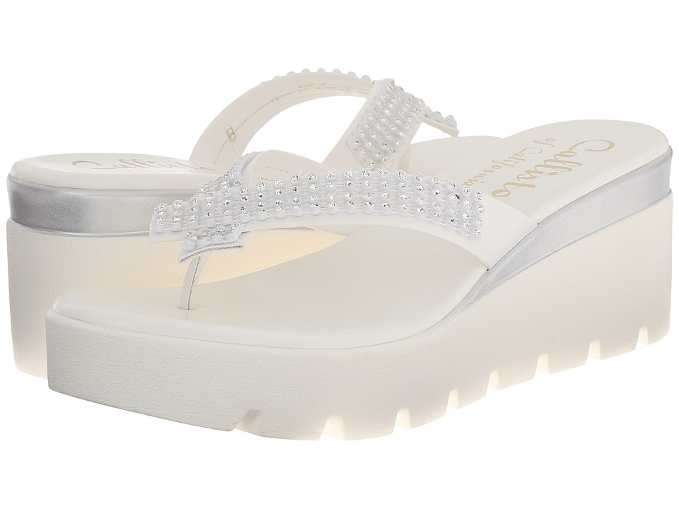 Callisto of California - Simie (White) Women's Sandals