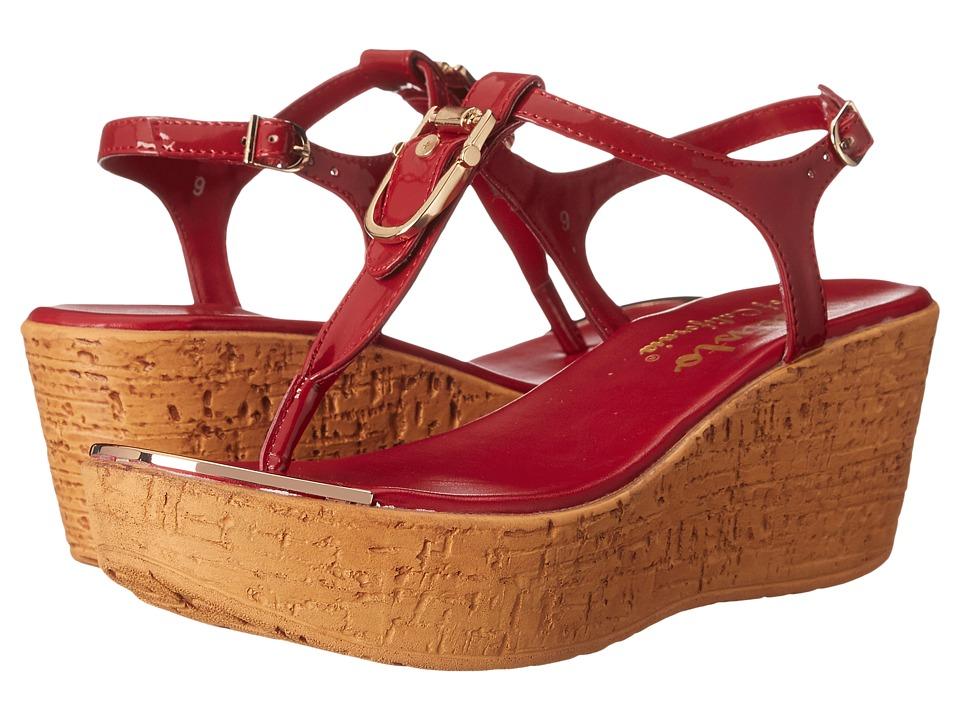 Callisto of California - Bindi (Red Patent) Women's Sandals