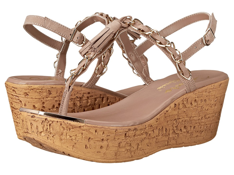 Callisto of California - Tamtam (Nude) Women's Wedge Shoes