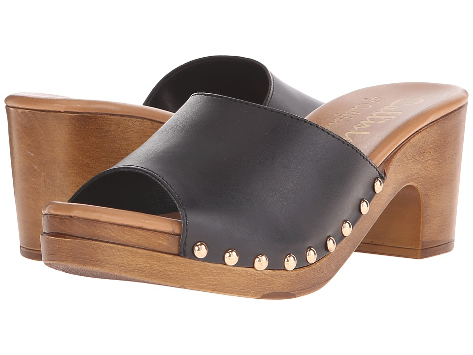 Callisto of California - Danna (Black) Women's Slide Shoes