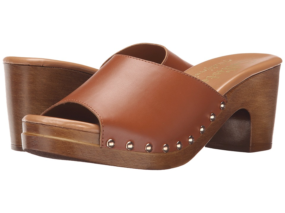 Callisto of California - Danna (Cognac) Women's Slide Shoes
