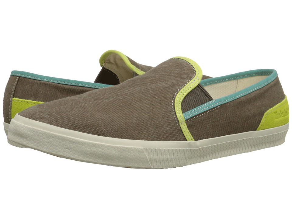 Timberland - Hookset Camp Canvas Slip-On (Olive) Men