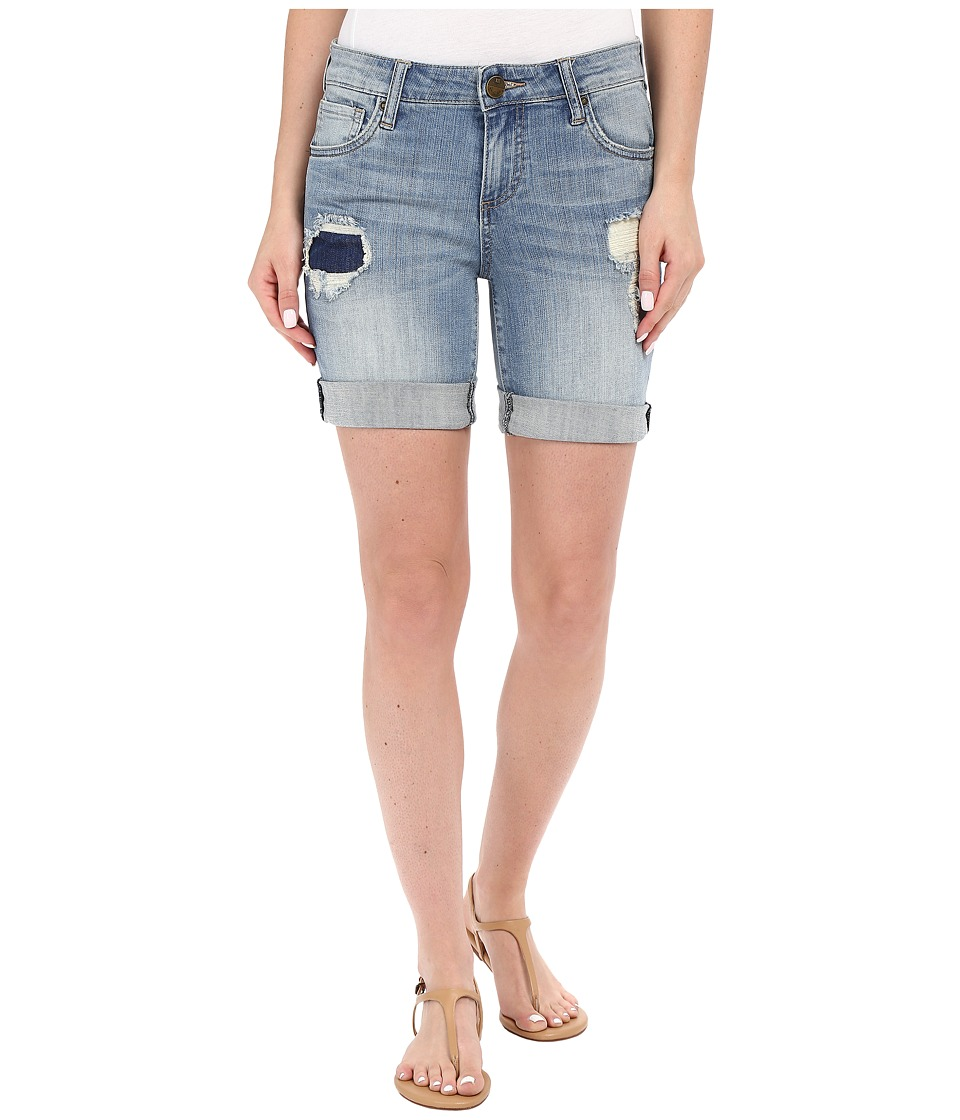 KUT from the Kloth - Catherine Boyfriend Shorts in Vow w/ New Vintage Base Wash (Vow/New Vintage Base Wash) Women
