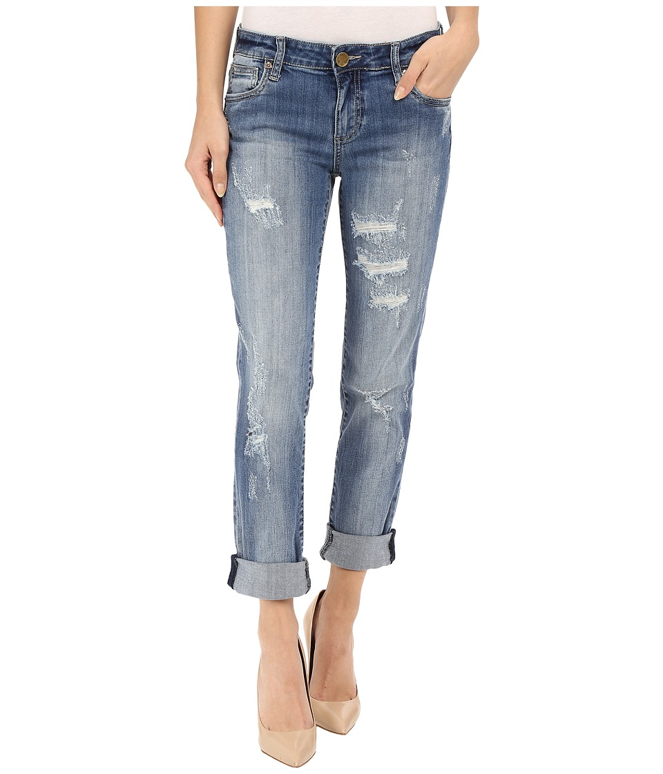 KUT from the Kloth - Catherine Boyfriend Jeans in Verify w/ New Vintage Base Wash (Verify/New Vintage Base Wash) Women's Jeans