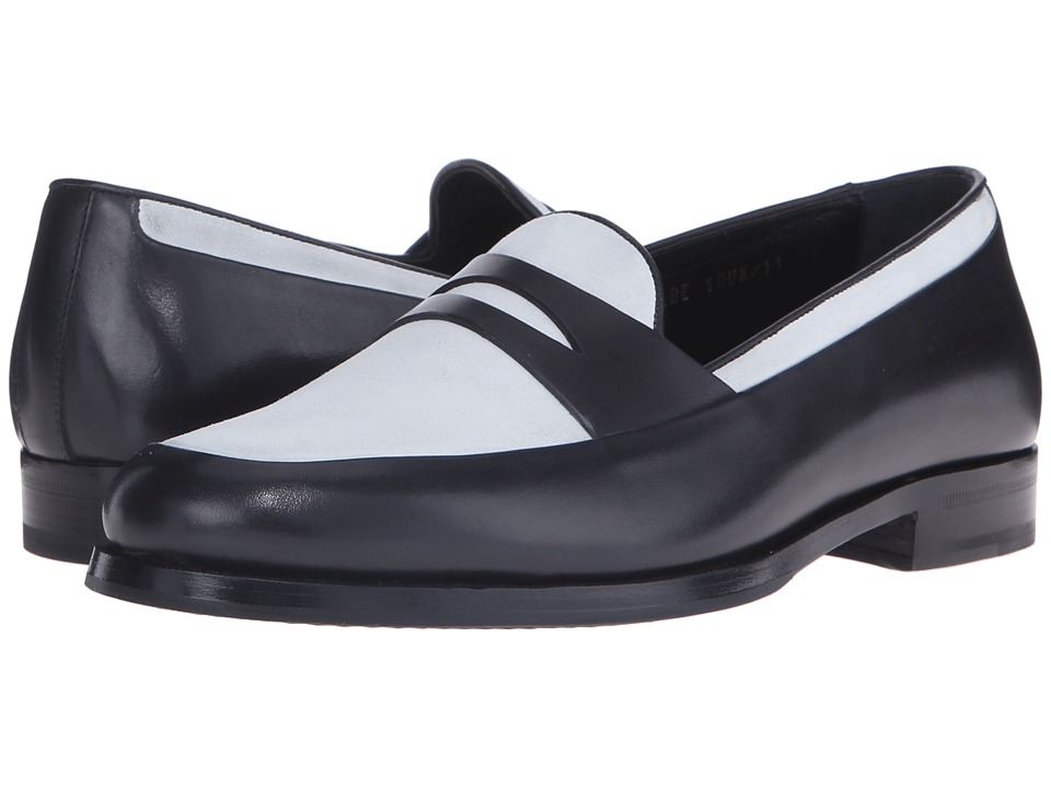 Mr. Hare - Penny Wilde (Black/White) Men's Slip on Shoes