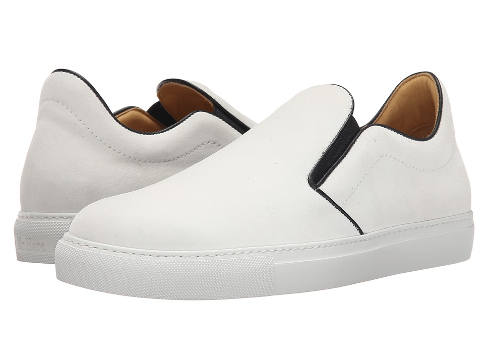 Mr. Hare - Llewelyn (White) Men's Lace up casual Shoes
