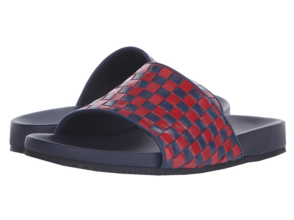 Mr. Hare - Pomp Eagles (Blue/Red) Men's Sandals