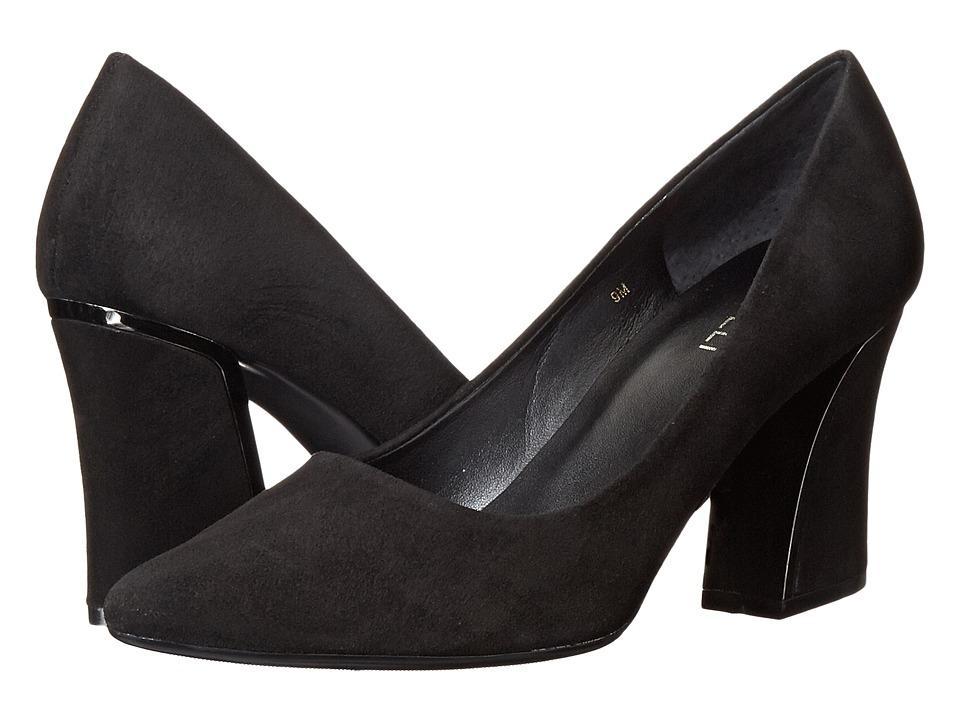 Vaneli - Soraya (Black Suede) High Heels