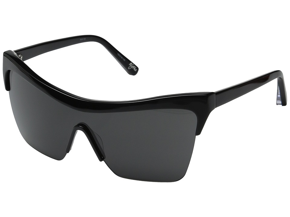 Elizabeth and James - Wythe (Black/Smoke Mono Lens) Fashion Sunglasses