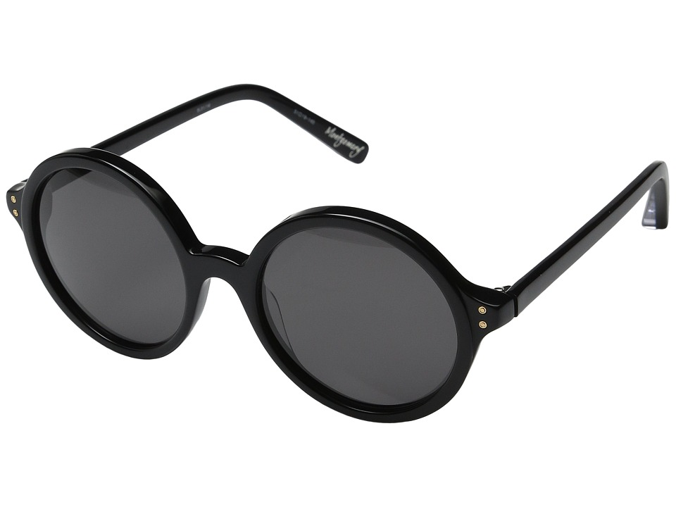 Elizabeth and James - Montgomery (Black/Smoke Mono Lens) Fashion Sunglasses