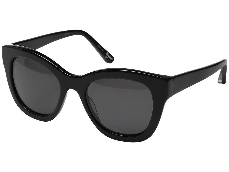 Elizabeth and James - Bryant (Black/Smoke Mono Lens) Fashion Sunglasses