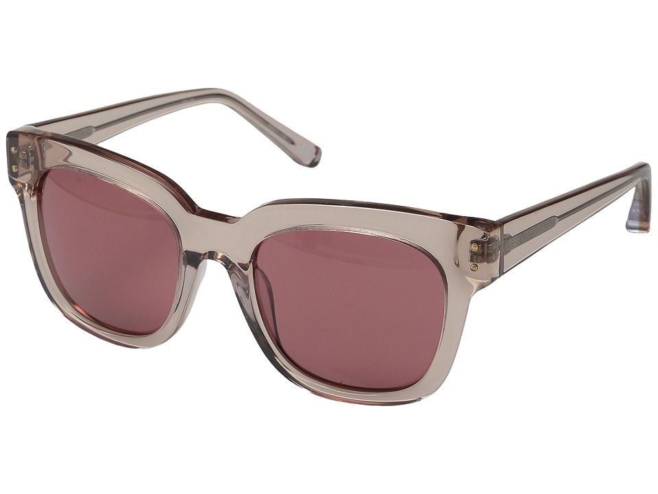 Elizabeth and James - Allen (Crystal Nude/Rose Mono Lens) Fashion Sunglasses