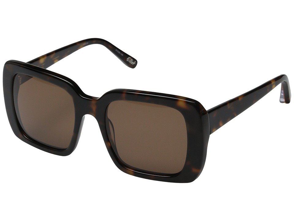 Elizabeth and James - Elliot (Tortoise/Brown Mono Lens) Fashion Sunglasses