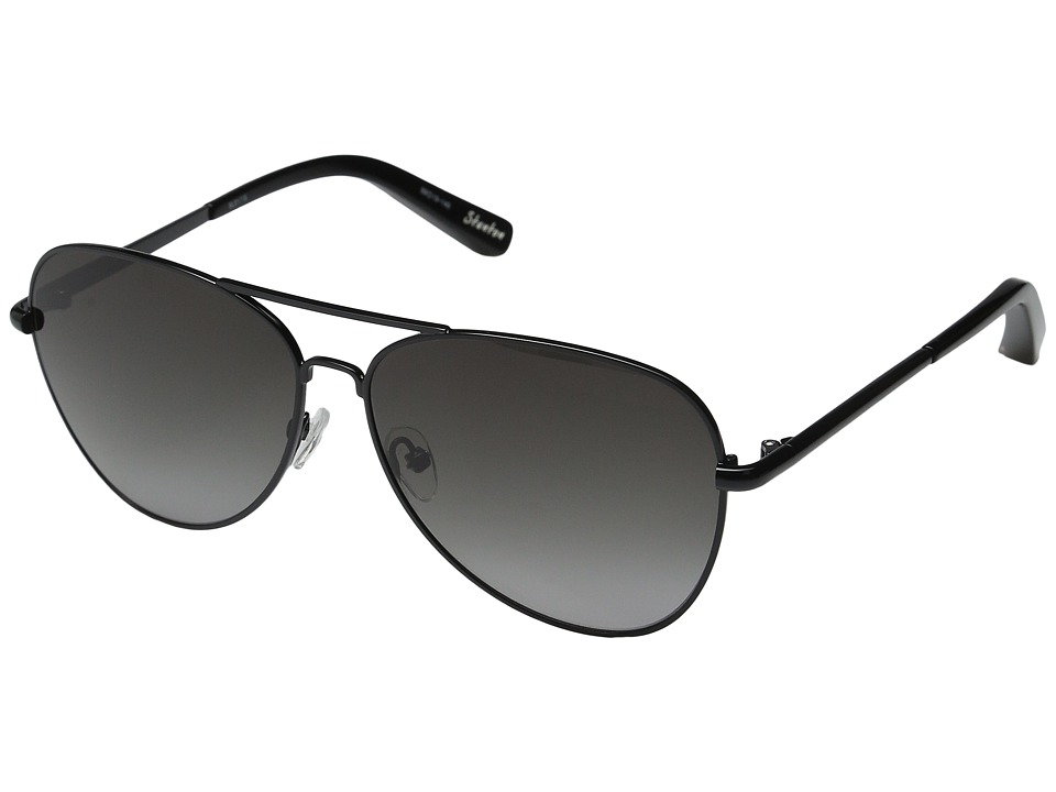 Elizabeth and James - Stanton (Black/Smoke Grad Lens) Fashion Sunglasses