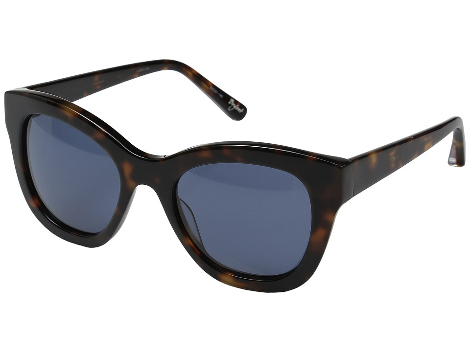 Elizabeth and James - Bryant (Tortoise/Blue Mono Lens) Fashion Sunglasses