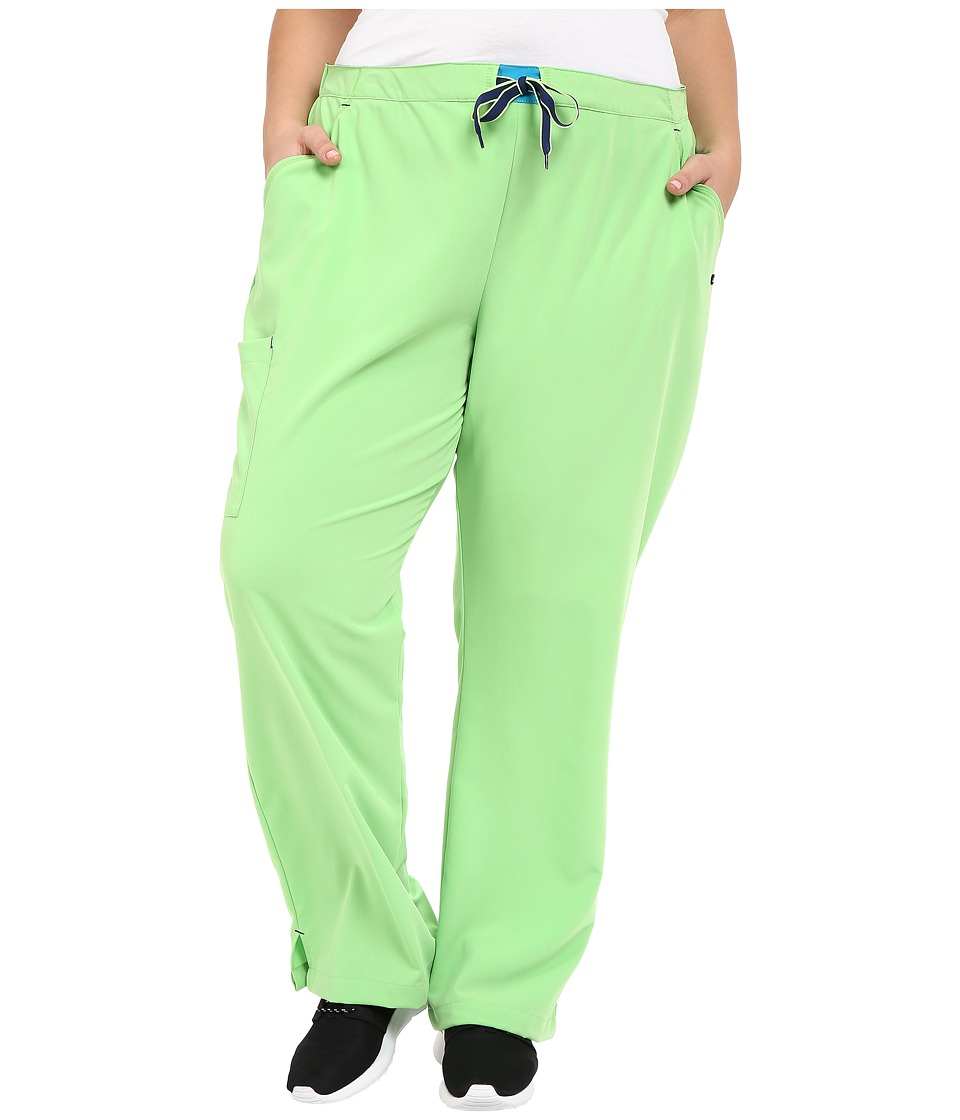 Jockey - Plus Size Modern Convertible Drawstring Waist Pants (Key Lime) Women's Casual Pants