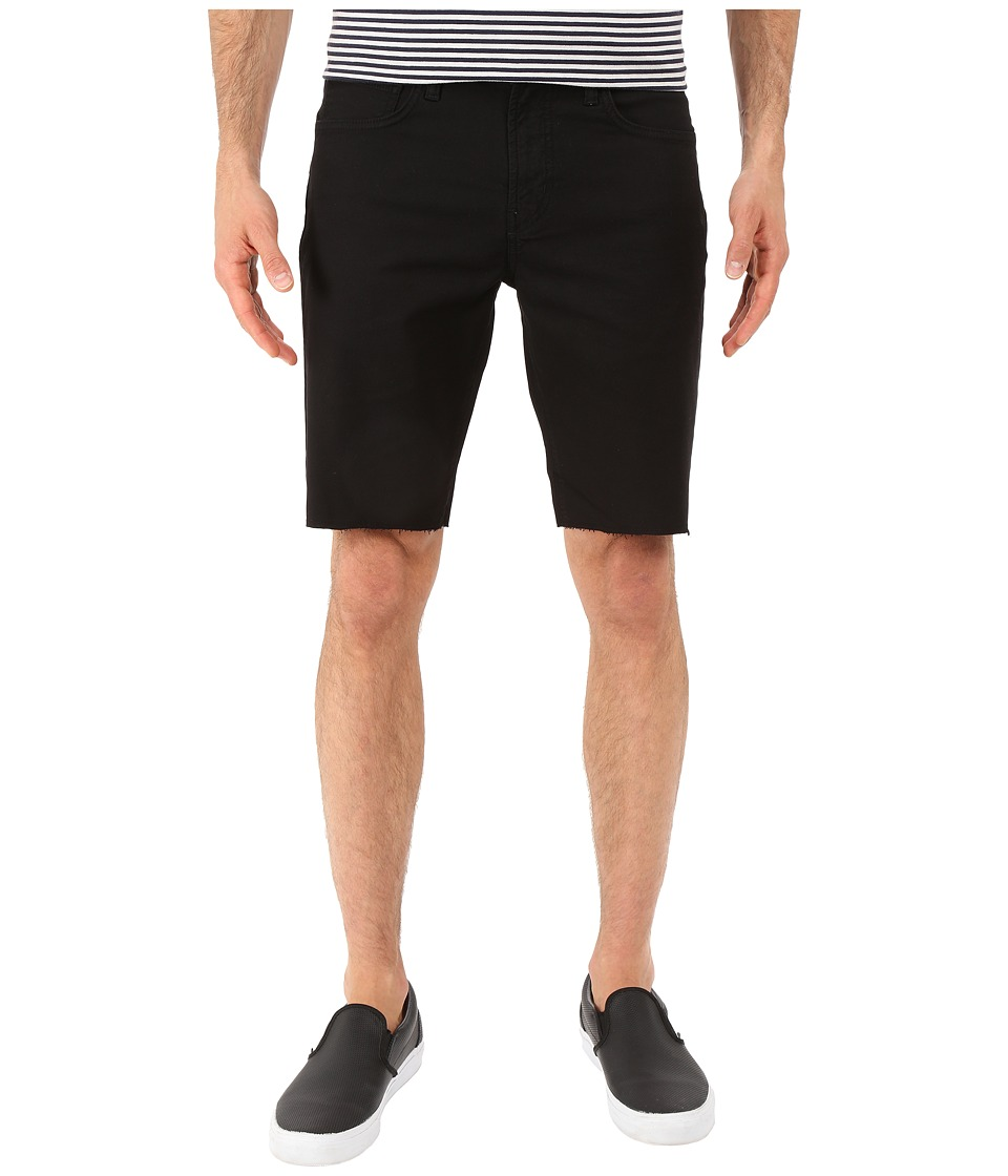 J Brand - Tyler Slim Cut Off Shorts (Black) Men's Shorts