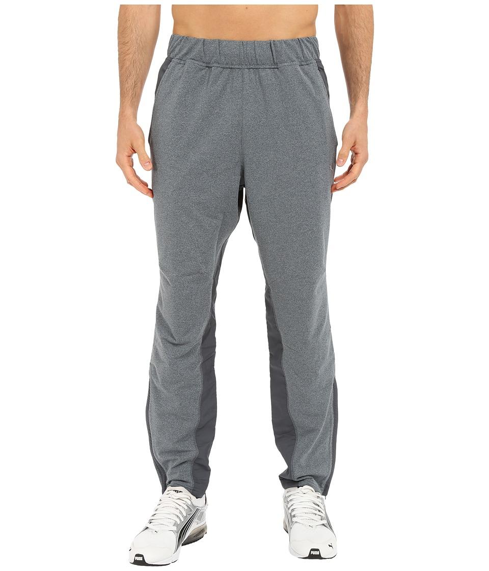 PUMA - Mixed Material Pants (Turbulence Heather) Men's Casual Pants
