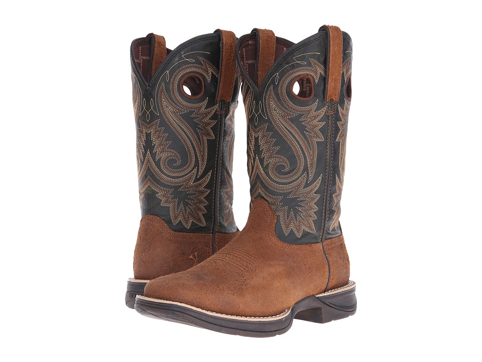 Durango - Rebel 12 Western (Dark Brown/Black) Cowboy Boots