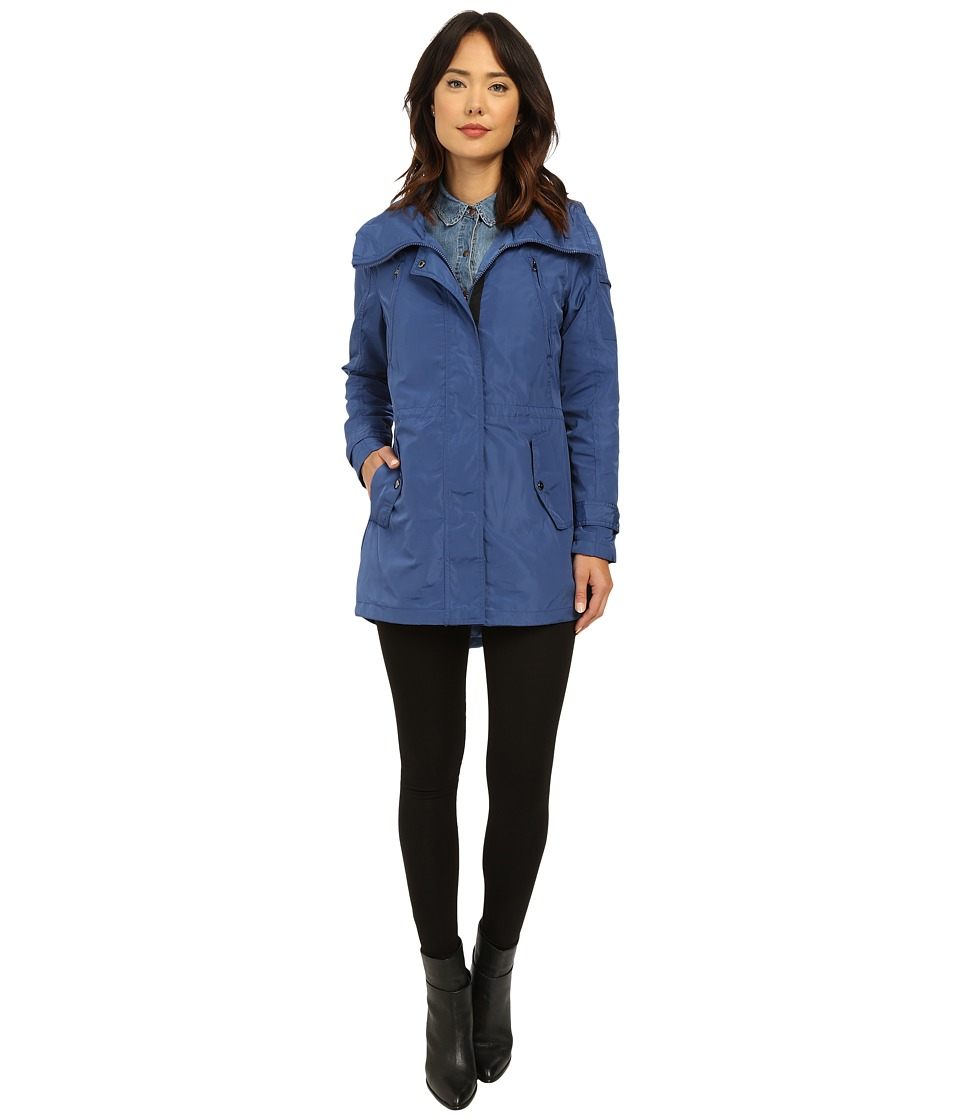 LAUREN Ralph Lauren - Swallow Tail Anorak (Atomic Blue) Women's Coat