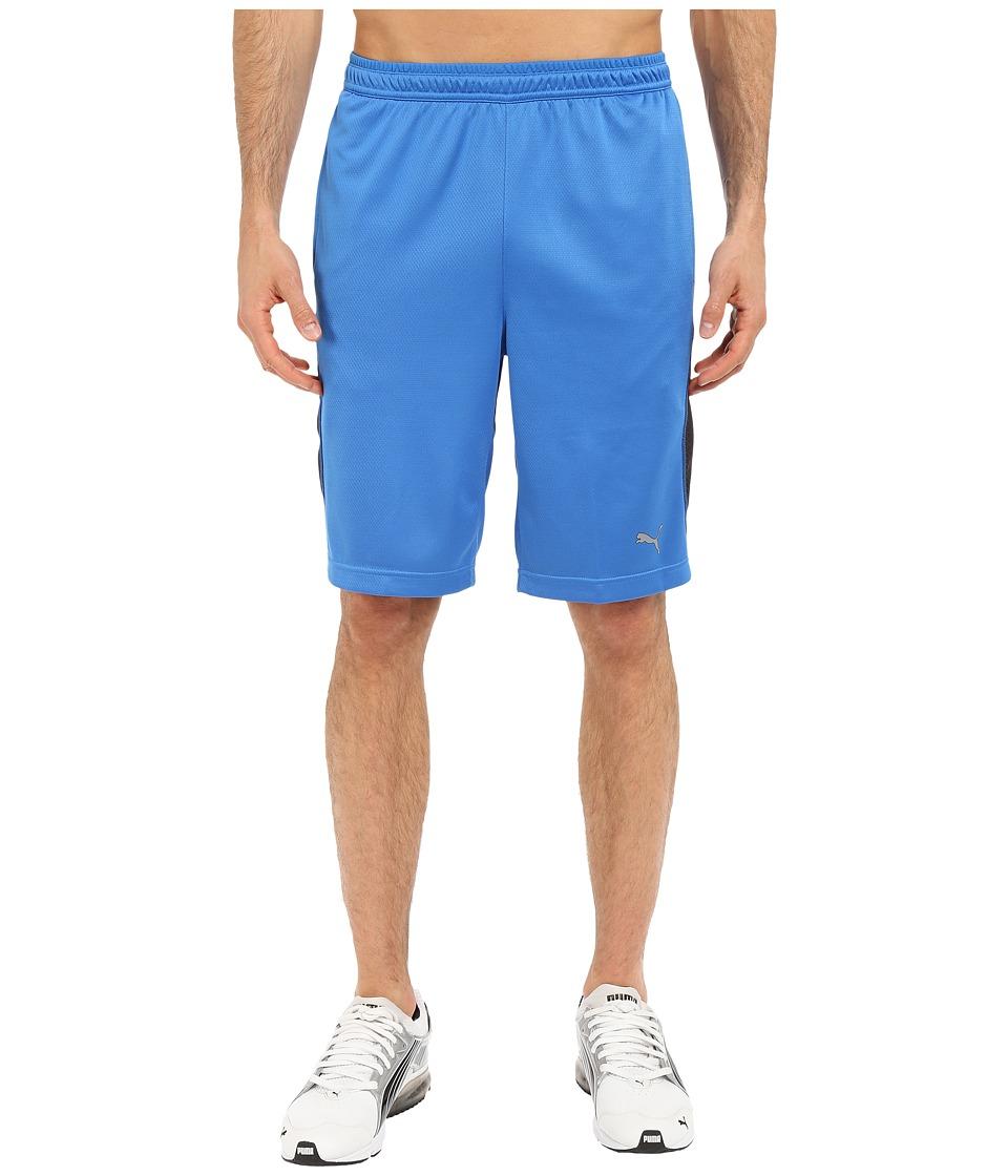 PUMA - PT AT Cool Knit 10 Shorts (Strong Blue/Strong Blue) Men's Shorts