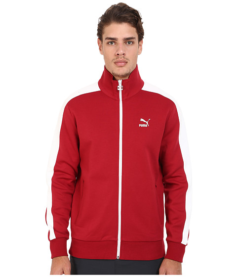 PUMA - T7 Track Jacket (Rio Red) Men