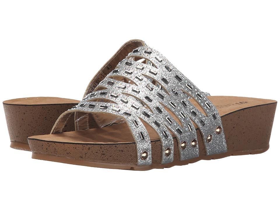 PATRIZIA - Paraiso (Silver) Women's Wedge Shoes