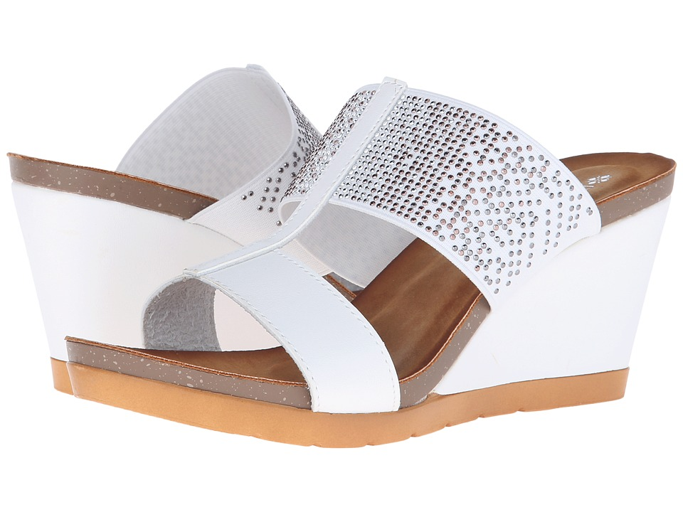 PATRIZIA - Patna (White) Women's Wedge Shoes