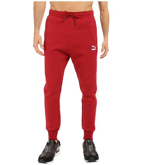 PUMA - T7 Track Pants (Rio Red) Men's Casual Pants