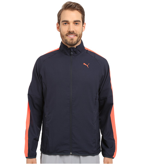 PUMA - Woven Jacket (Total Eclipse) Men's Coat