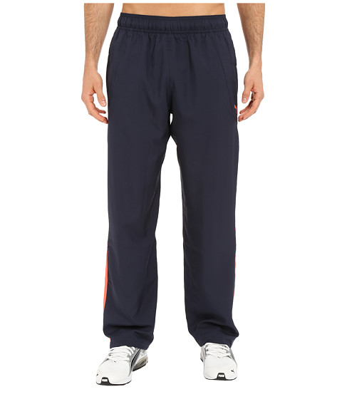 PUMA - Woven Pants (Total Eclipse) Men's Workout