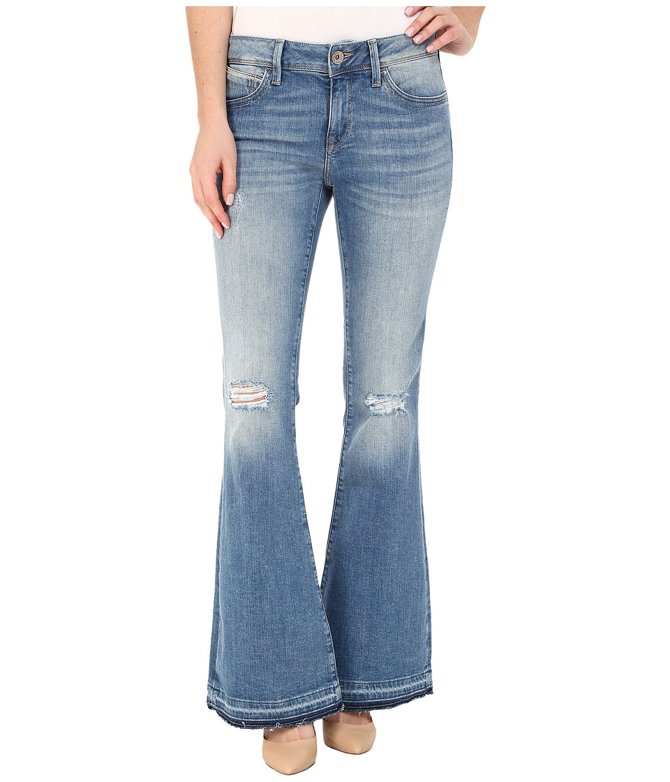 Mavi Jeans - Peace in Light Ripped (Light Ripped) Women's Jeans