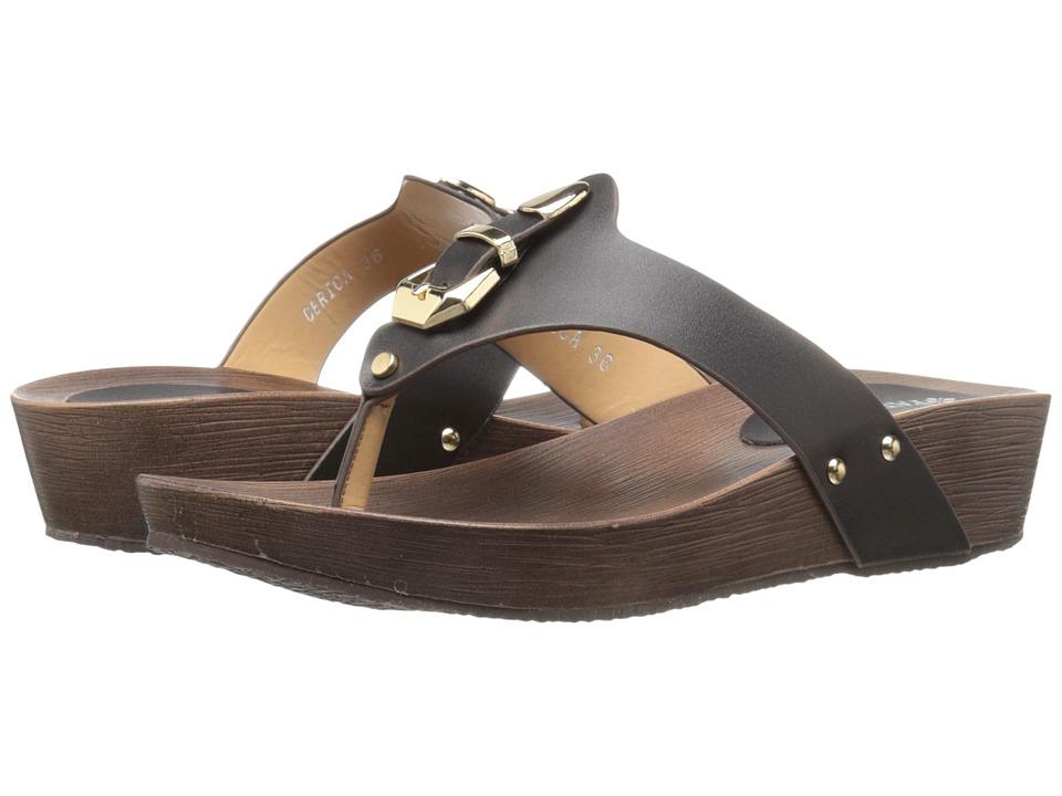 PATRIZIA - Derica (Black) Women's Wedge Shoes