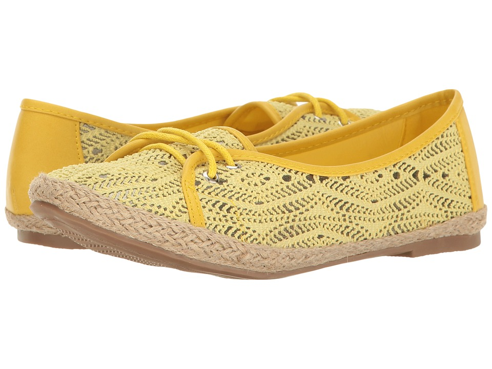 PATRIZIA - Contrast (Yellow) Women's Lace up casual Shoes