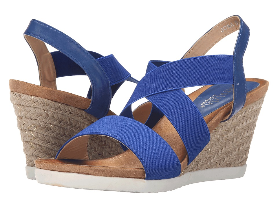 PATRIZIA - Jona (Blue) Women's Wedge Shoes