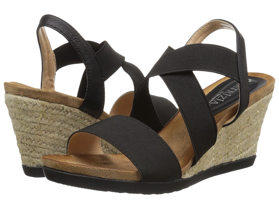 PATRIZIA - Jona (Black) Women's Wedge Shoes