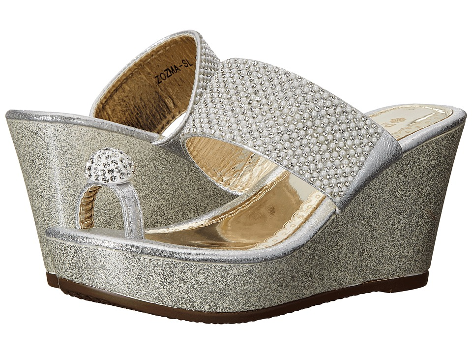 PATRIZIA - Zozma (Silver) Women's Wedge Shoes