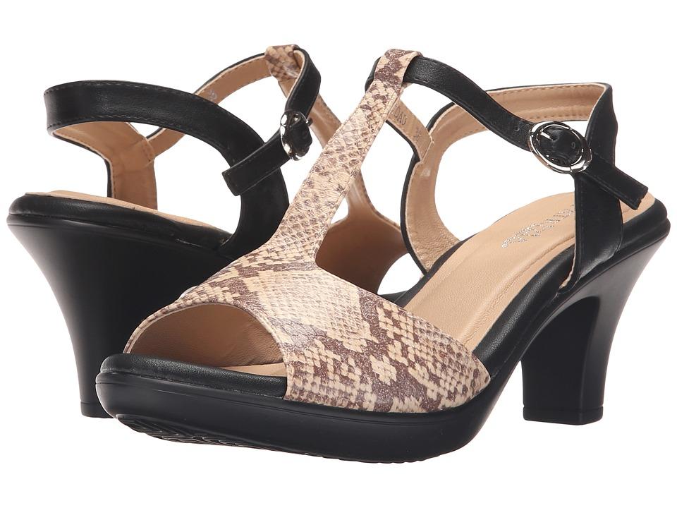 PATRIZIA - Toad (Beige Python) High Heels