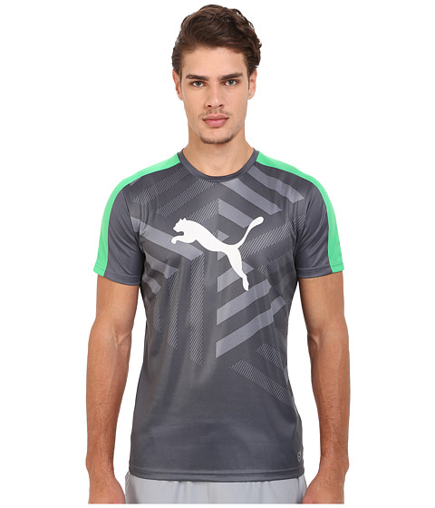 PUMA - IT Evotrg Graphic Tee (Turbulence/White/Bright) Men