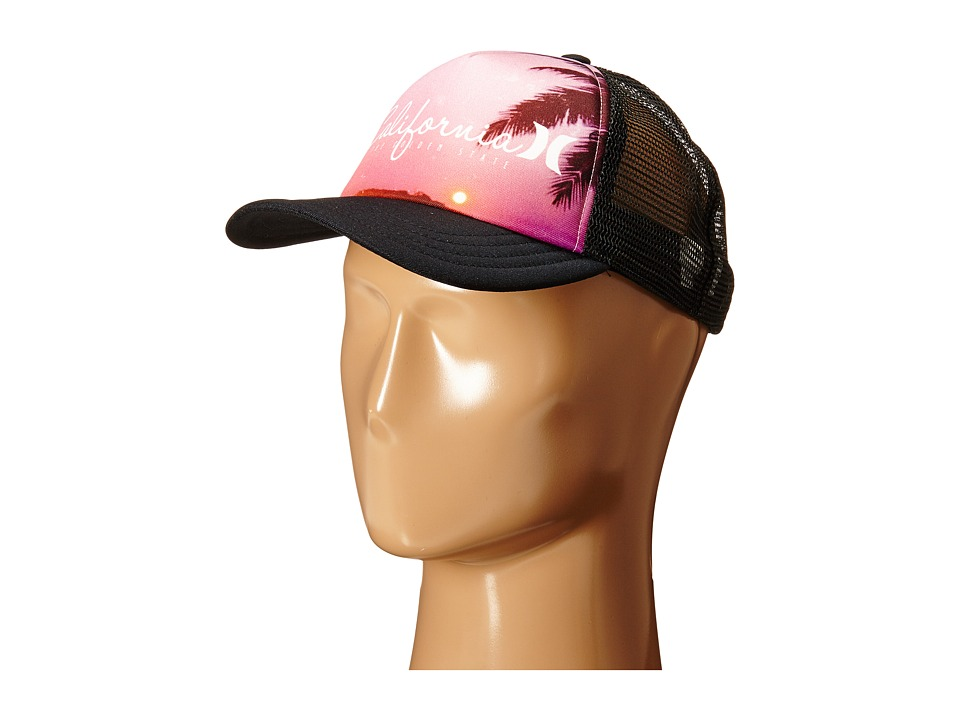 Hurley - Destination Trucker Hat (Black California) Caps