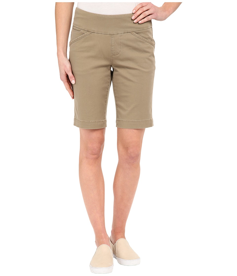 Jag Jeans - Ainsley Bermuda Classic Fit Bay Twill (Hazelnut) Women's Shorts plus size,  plus size fashion plus size appare
