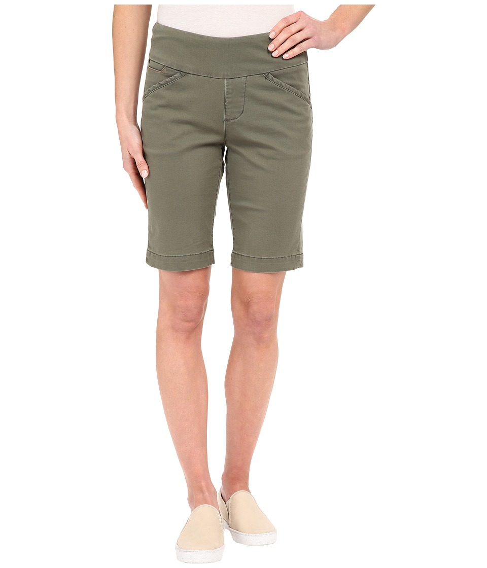 Jag Jeans - Ainsley Bermuda Classic Fit Bay Twill (Jungle Palm) Women's Shorts