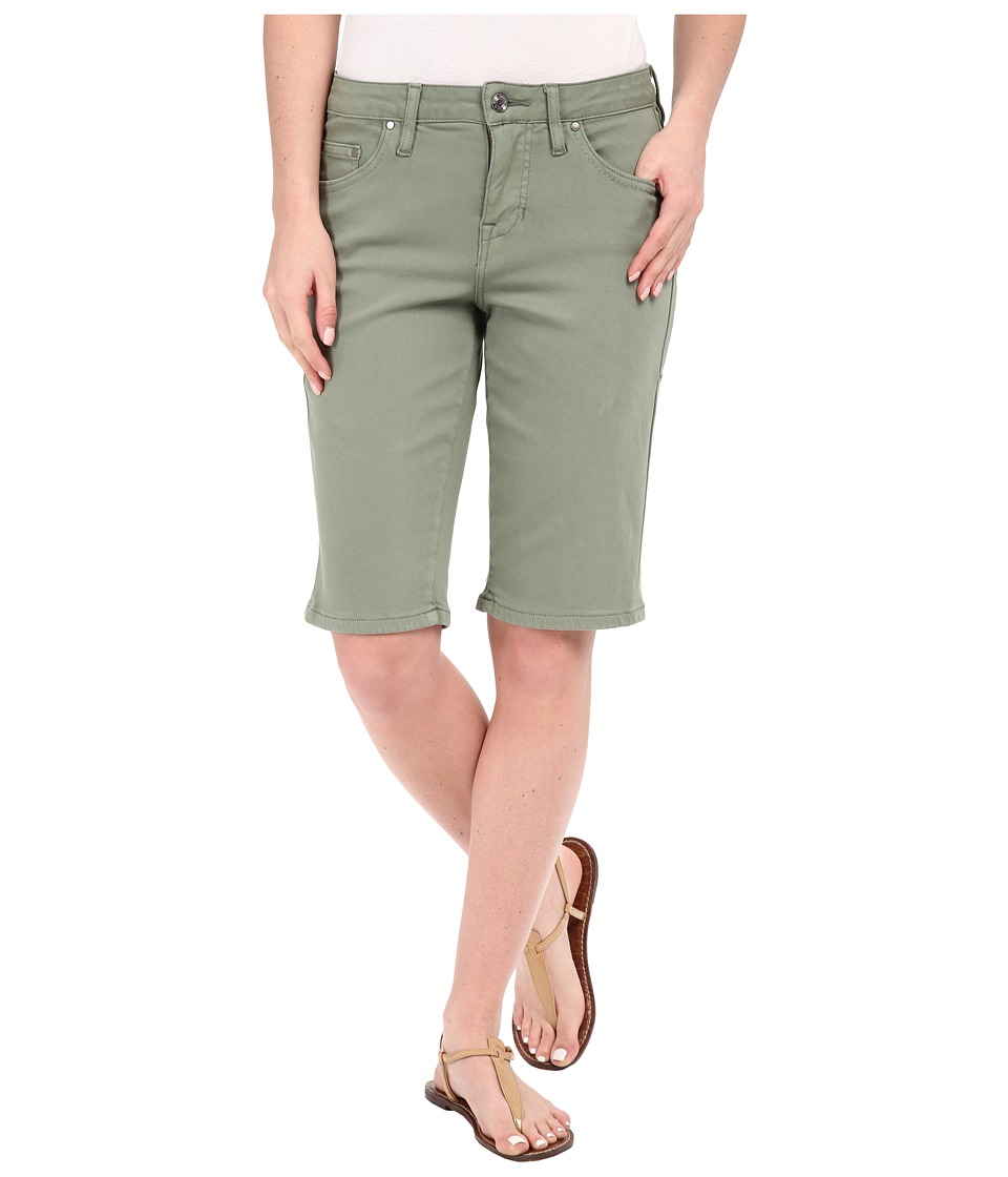 Jag Jeans - Willa Bermuda in Dolce Twill (Silver Sage) Women's Shorts plus size,  plus size fashion plus size appare
