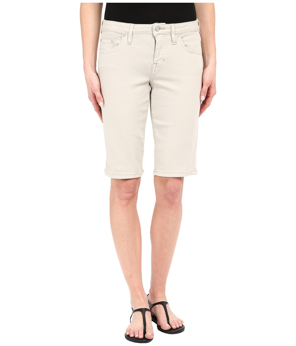 Jag Jeans - Willa Bermuda in Dolce Twill (Stone) Women's Shorts plus size,  plus size fashion plus size appare