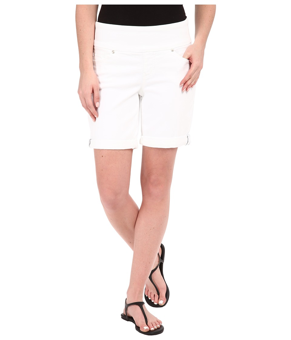 Jag Jeans - Jordan Shorts in Dolce Twill (White) Women's Shorts