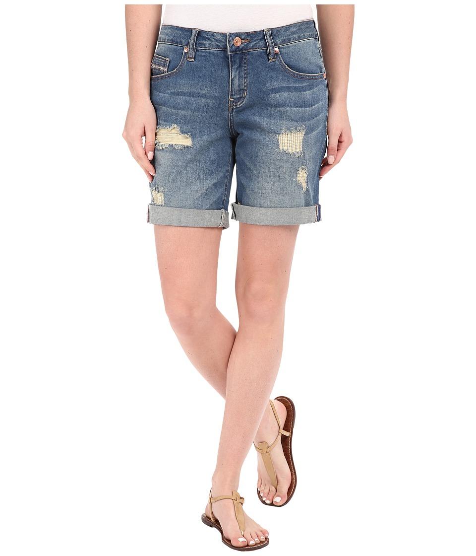 Jag Jeans - Alex Boyfriend Shorts Capital Denim in Blue Carbon (Blue Carbon) Women's Shorts