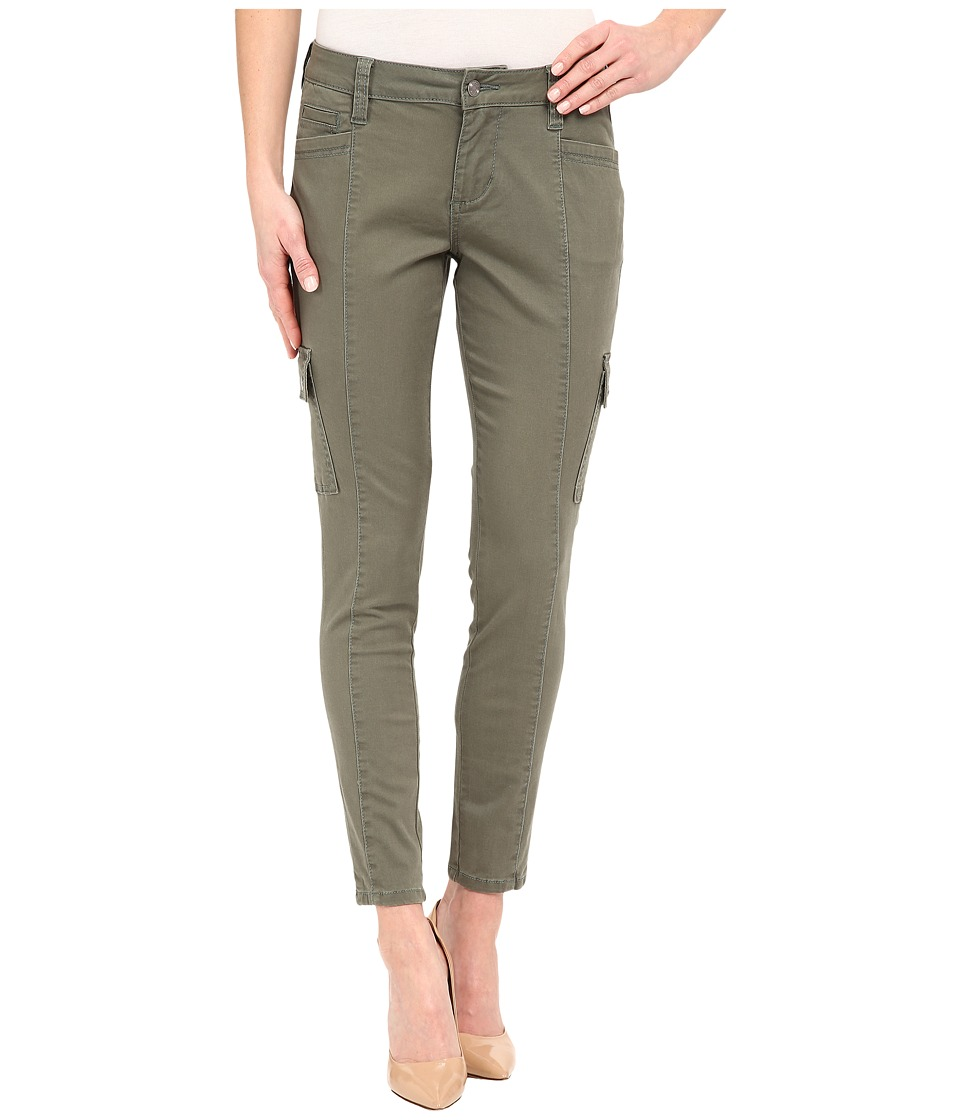 Jag Jeans Remy Skinny Cargo in Bay Twill (Jungle Palm) Women