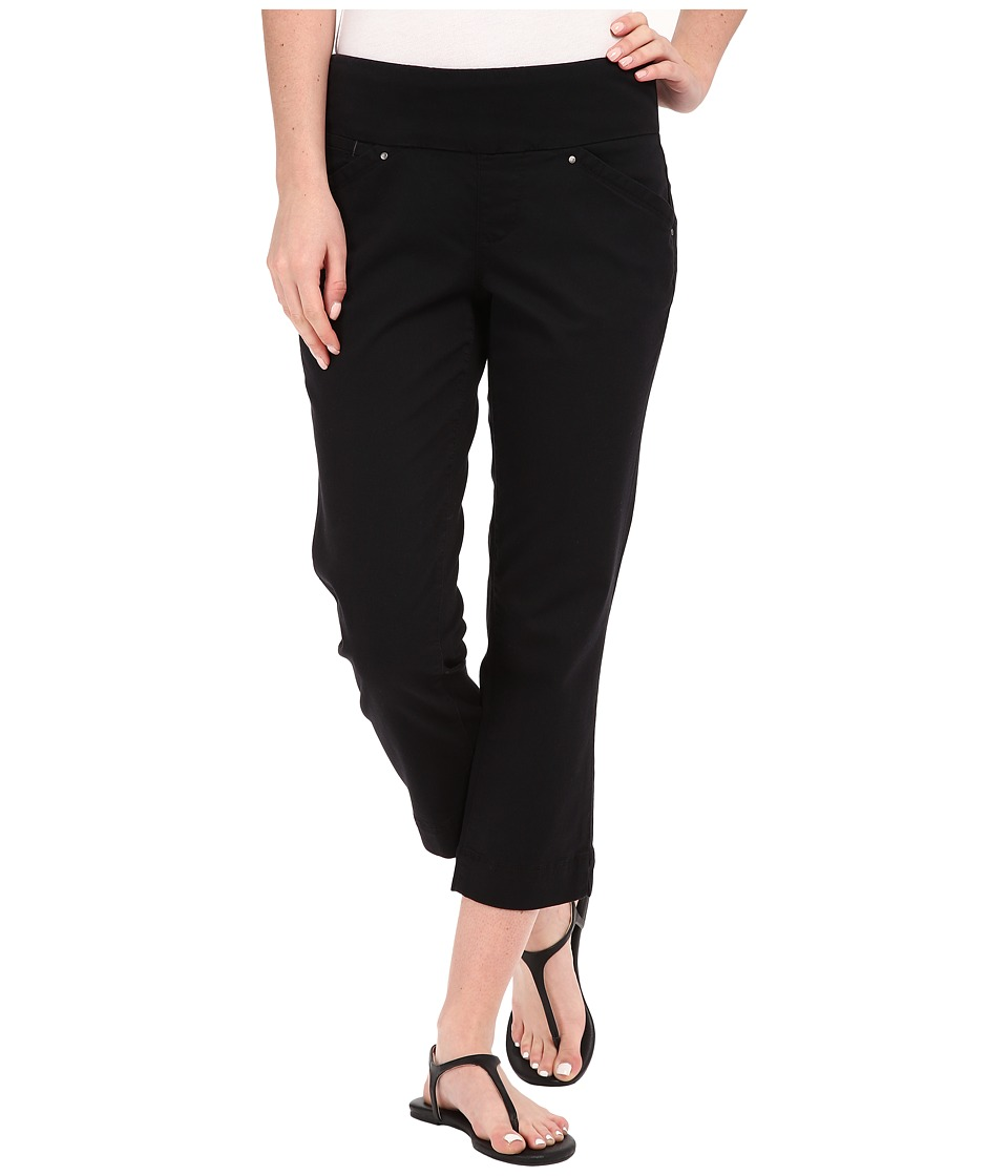 Jag Jeans - Marion Crop in Bay Twill (Black) Women's Jeans
