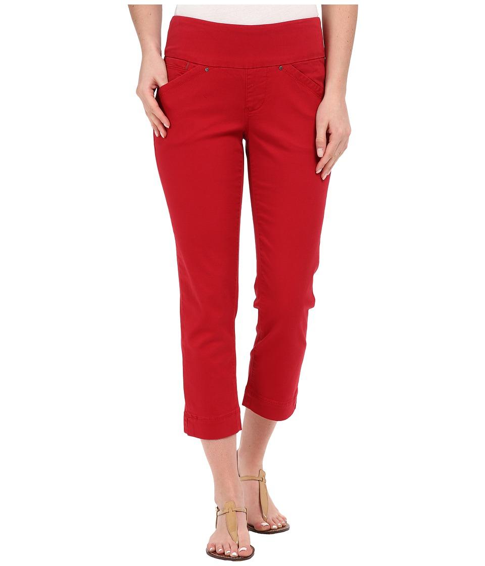 Jag Jeans - Marion Crop in Bay Twill (Dark Poppy) Women's Jeans